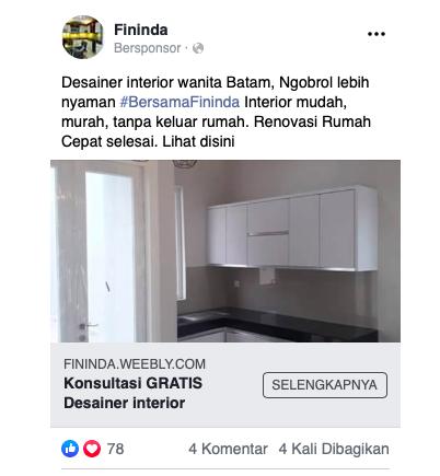 Iklan Facebook Seluler